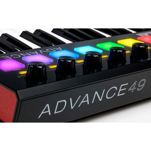 AKAI ADVANCE 49 SEMI-WEIGHTED VST MIDI CONTROLLER KEYBOARD