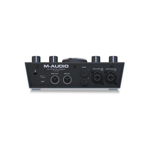 M-AUDIO M-TRACK 2X2M MIDI USB-C AUDIO INTERFACE
